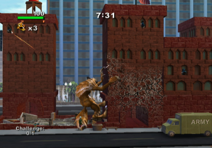 Rampage: Total Destruction Review - Screenshot 2 of 6