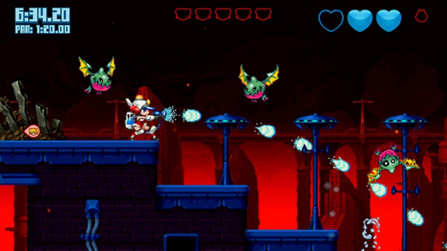 Mighty Switch Force! 2 Review - Screenshot 3 of 4