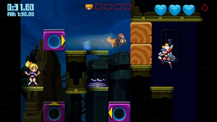 Mighty Switch Force! 2 Review - Screenshot 1 of 4