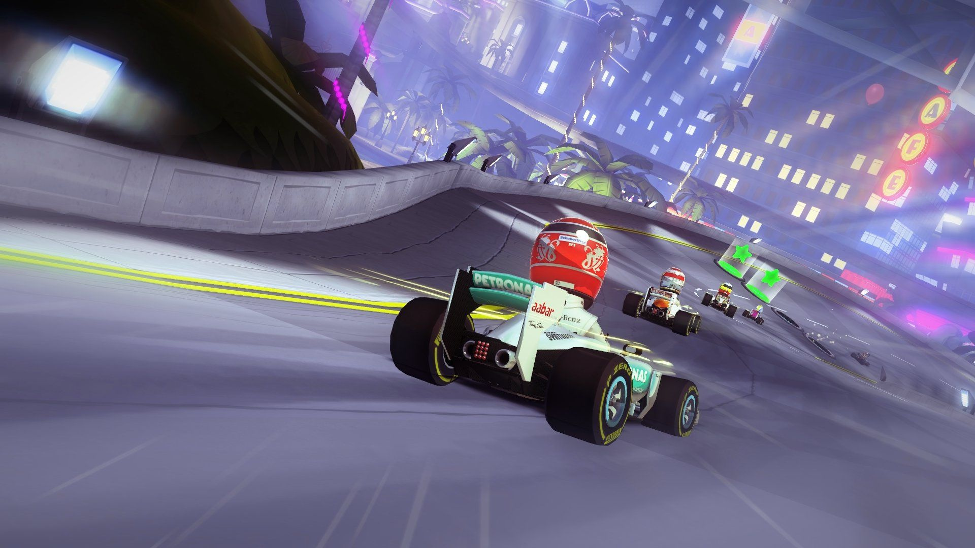 F1 Race Stars: Powered Up Edition Review (Wii U eShop