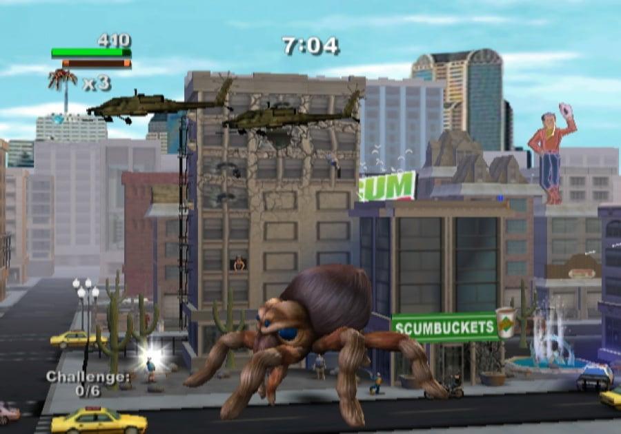 Rampage: Total Destruction Review - Screenshot 2 of 5