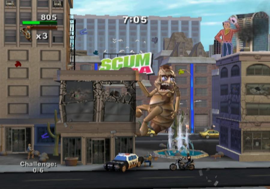 Rampage: Total Destruction Review - Screenshot 3 of 5