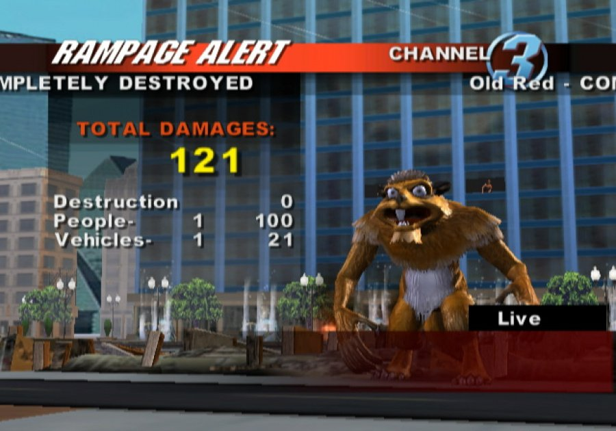 Rampage: Total Destruction Review - Screenshot 5 of 6
