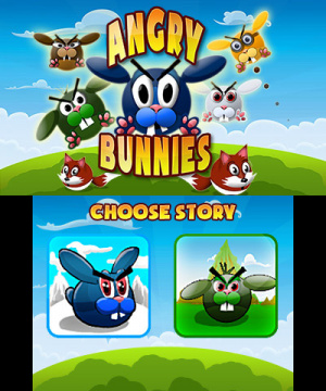 Angry Bunnies Review - Screenshot 1 of 3
