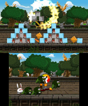 Angry Bunnies Review - Screenshot 2 of 3