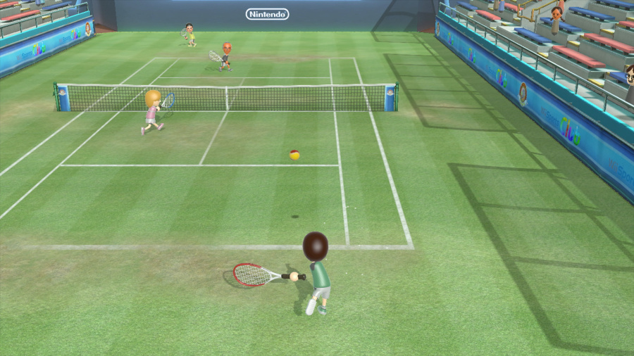 Wii Sports Club: Tennis Review - Screenshot 1 of 5