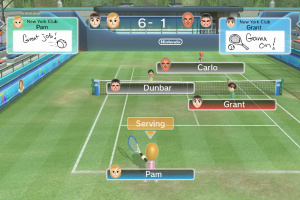 Wii Sports Club: Tennis Screenshot