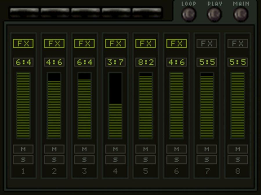 KORG M01D Screenshot