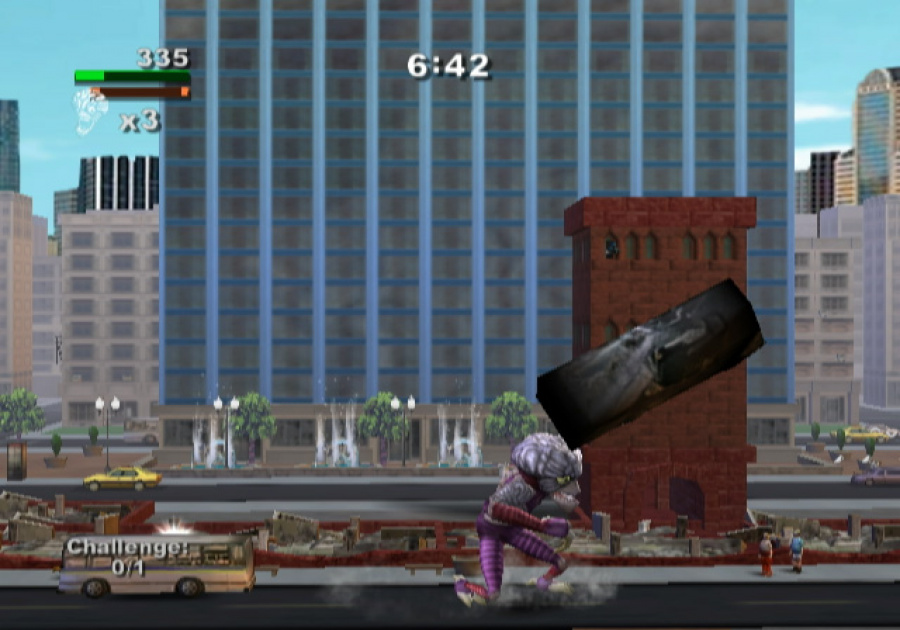 Rampage Total Destruction Review Wii Nintendo Life