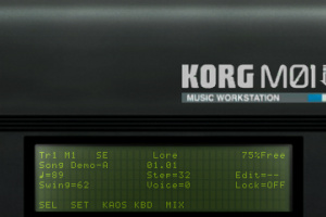 KORG M01D Screenshot