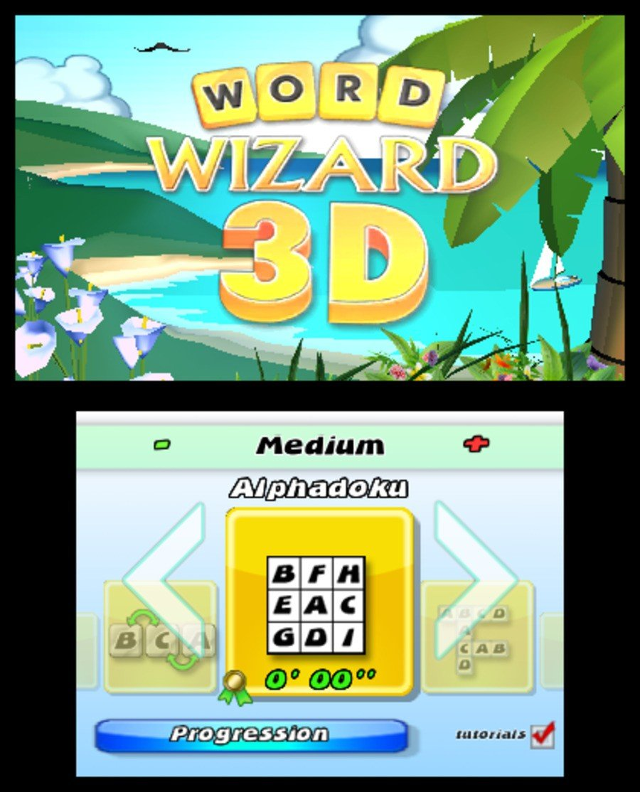 Word Wizard 3D Screenshot