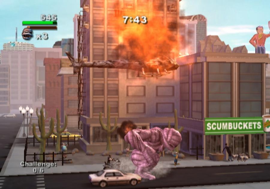 Rampage: Total Destruction Review - Screenshot 1 of 5