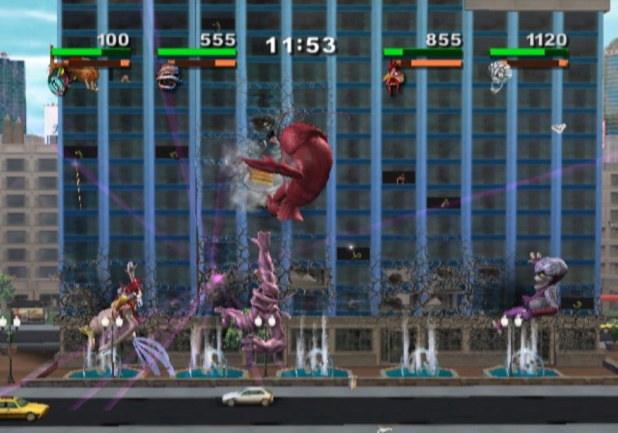 video game rampage total destruction