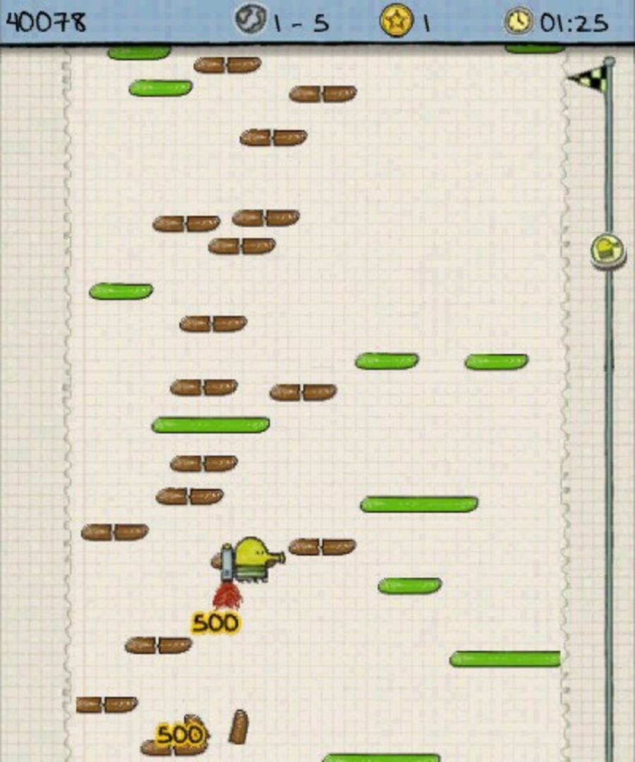 Doodle Jump Adventures Screenshot