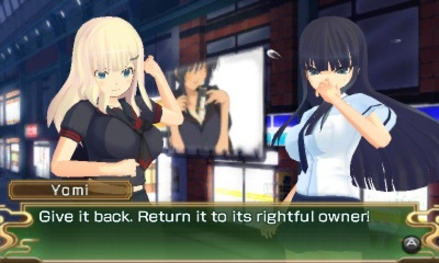 Senran Kagura Burst Screenshot