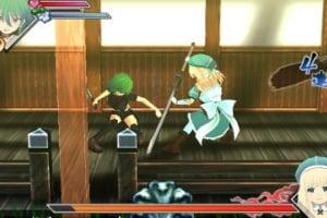 Senran Kagura Burst Screenshot