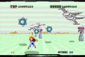 3D Space Harrier Screenshot