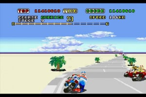 3D Super Hang-On Screenshot