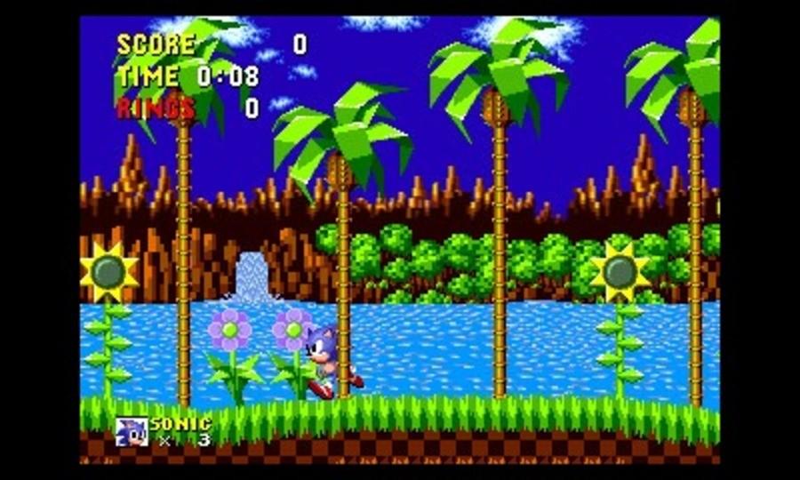3D Sonic The Hedgehog Screenshot