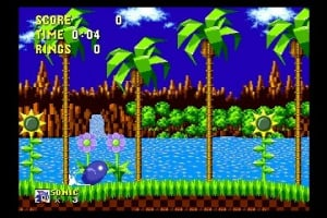3D Sonic The Hedgehog Screenshot