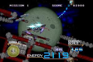 3D Galaxy Force II Screenshot