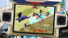 3D Galaxy Force II Screenshot