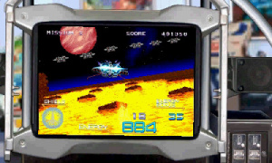 3D Galaxy Force II Review - Screenshot 1 of 5