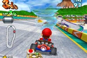 Mario Kart Arcade GP Screenshot