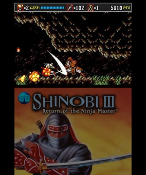 3D Shinobi III: Return of the Ninja Master Review - Screenshot 3 of 4