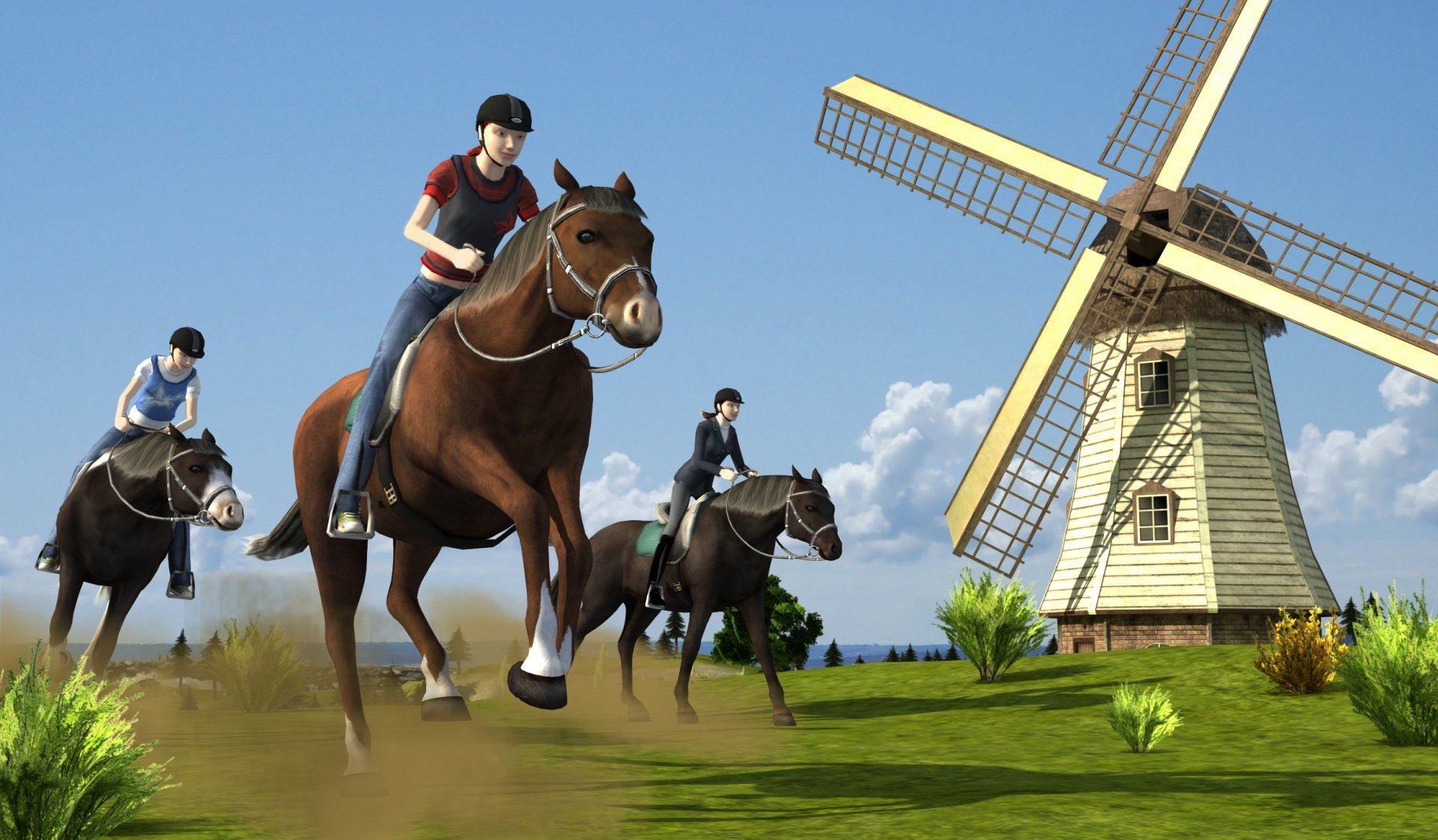 Life with Horses 3D 3DS eShop Game Profile News