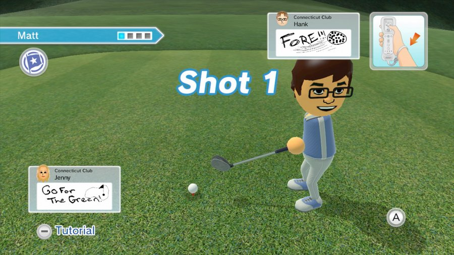 Wii Sports Club: Golf Review - Screenshot 2 of 6