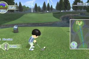 Wii Sports Club: Golf Screenshot