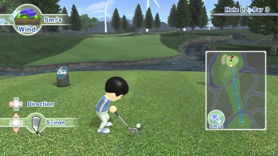 Wii Sports Club: Golf Review - Screenshot 5 of 6
