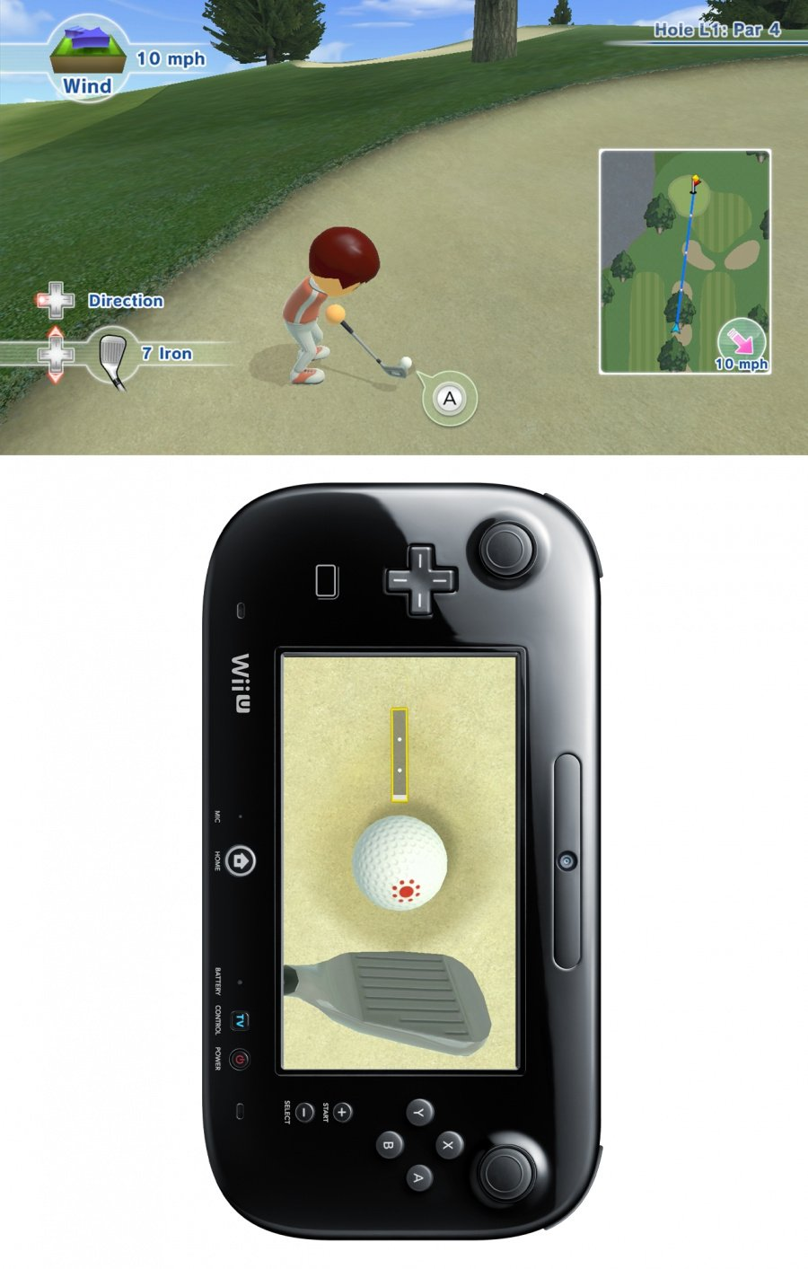 Wii Sports Club: Golf Review - Screenshot 4 of 6