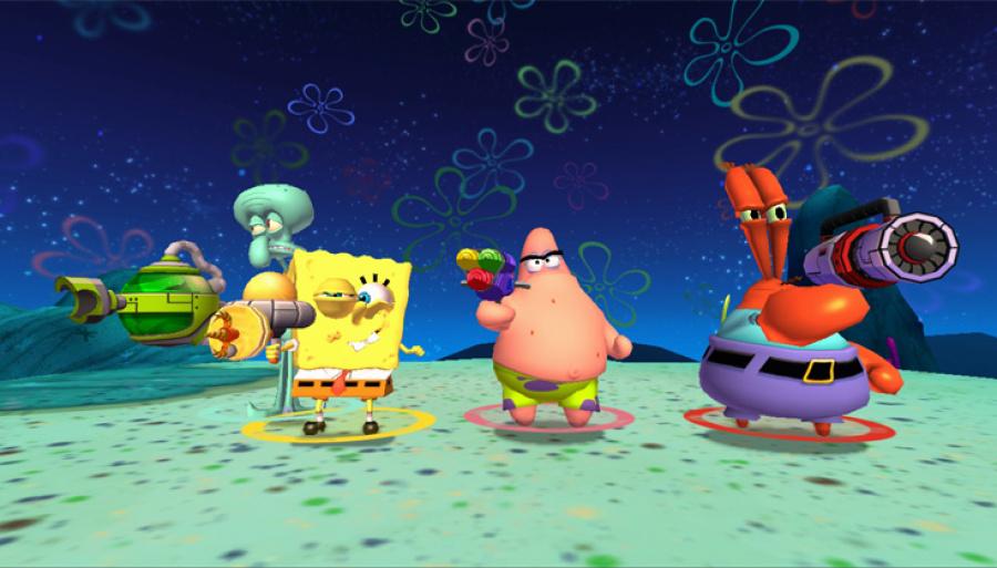 SpongeBob Squarepants: Plankton's Robotic Revenge Review - Screenshot 4 of 6
