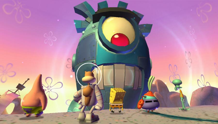 SpongeBob Squarepants: Plankton's Robotic Revenge Review - Screenshot 2 of 6