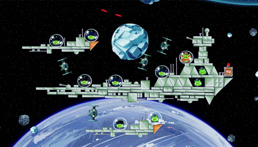 Angry Birds Star Wars Review - Screenshot 1 of 3