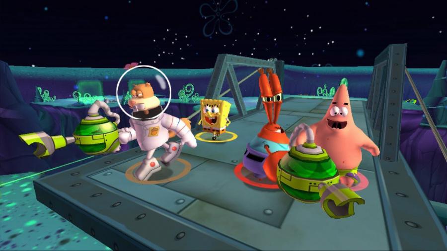 SpongeBob Squarepants: Plankton's Robotic Revenge Review - Screenshot 1 of 6