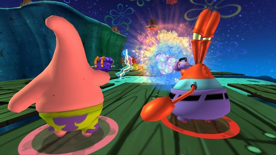 SpongeBob Squarepants: Plankton's Robotic Revenge Screenshot