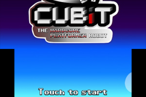 Cubit The Hardcore Platformer Robot Screenshot