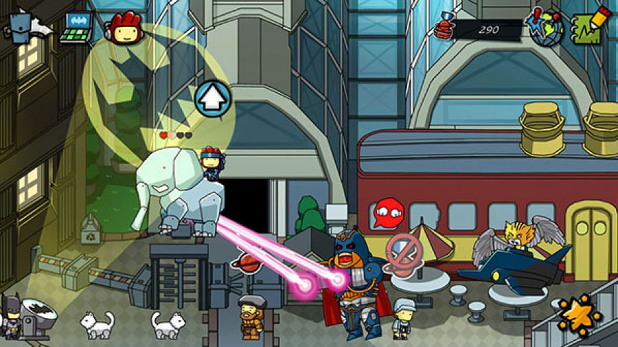 Scribblenauts Unmasked: A DC Comics Adventure Review - Screenshot 2 of 5