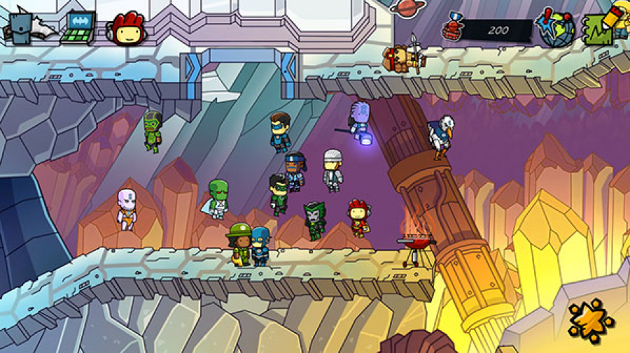 Scribblenauts Unmasked: A DC Comics Adventure Review - Screenshot 3 of 5