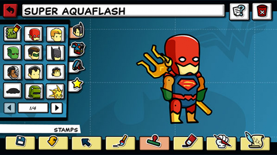 Scribblenauts Unmasked: A DC Comics Adventure Review - Screenshot 4 of 5