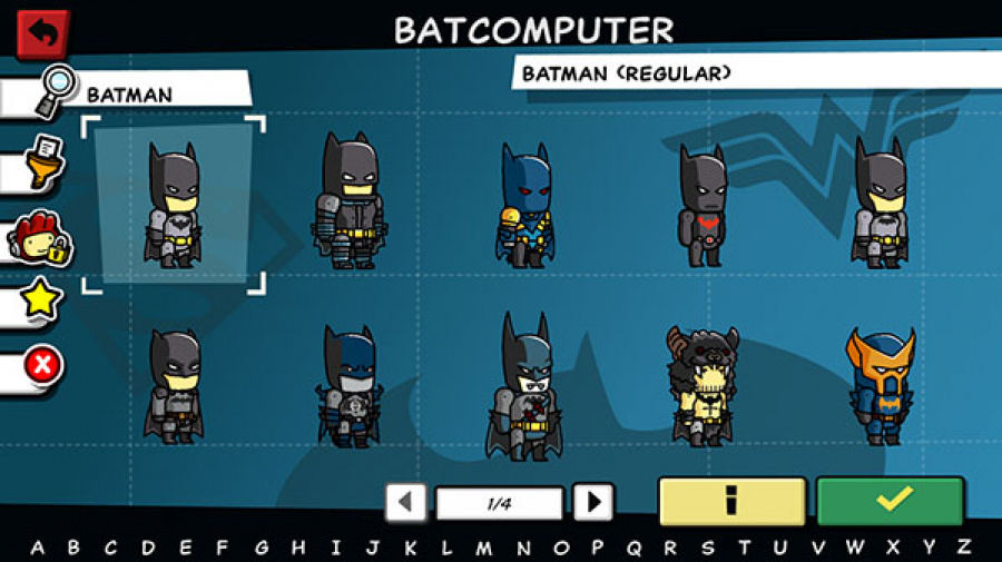 Scribblenauts Unmasked: A DC Comics Adventure Review - Screenshot 1 of 5
