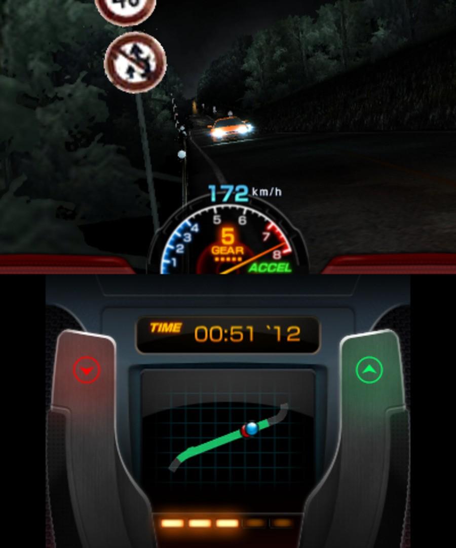 Initial D: Perfect Shift Online Screenshot
