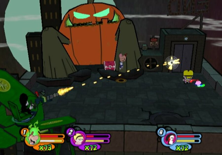 The Grim Adventures of Billy & Mandy Screenshot