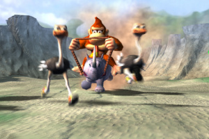 Donkey Kong Racing Screenshot