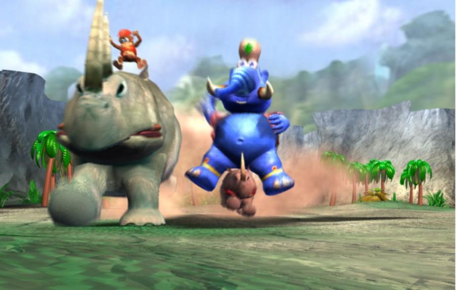 Donkey Kong Racing Screenshot