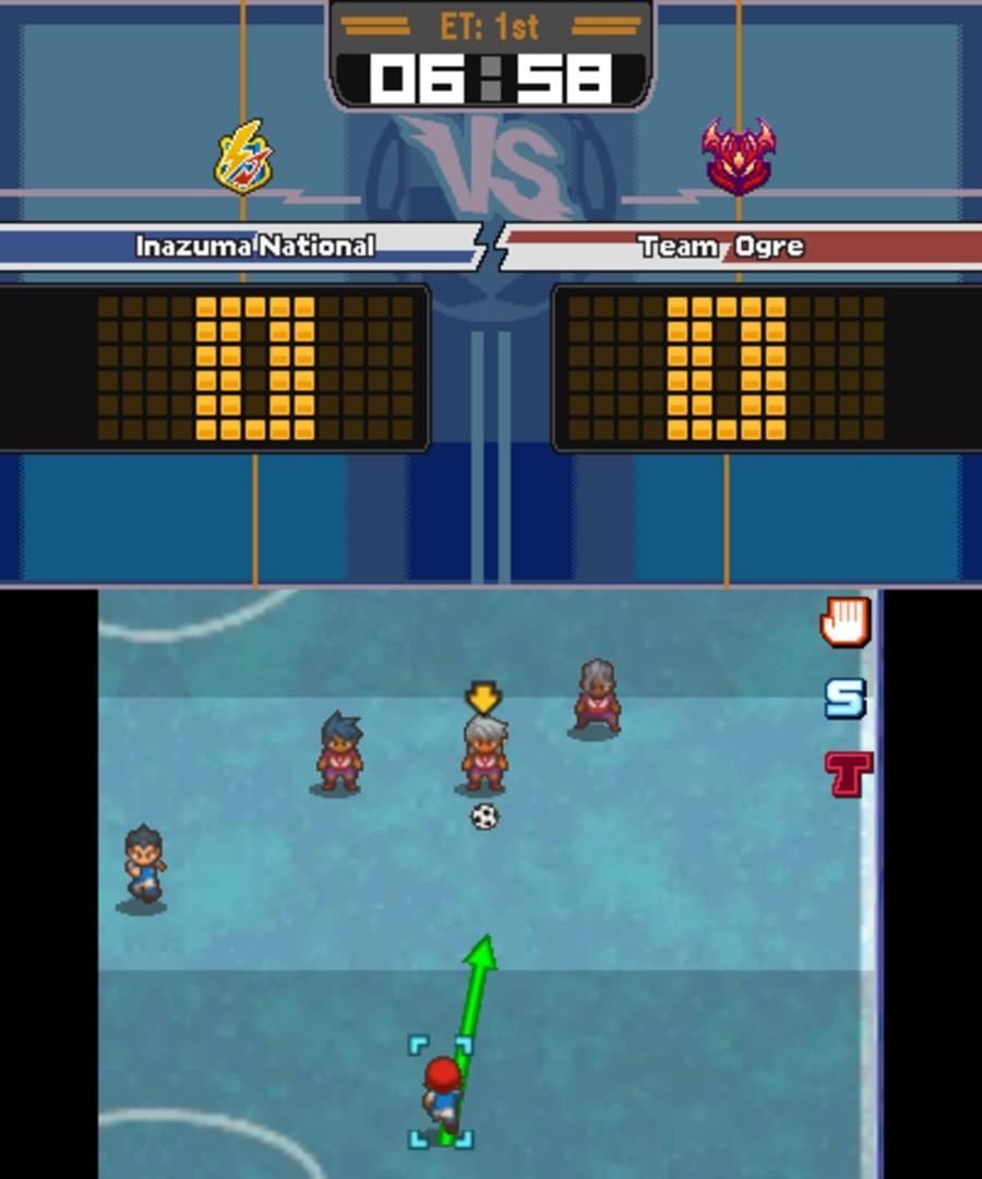 Inazuma Eleven 3: Team Ogre Attacks Screenshot