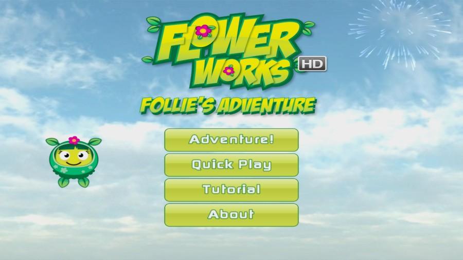Flowerworks HD: Follie's Adventure Screenshot